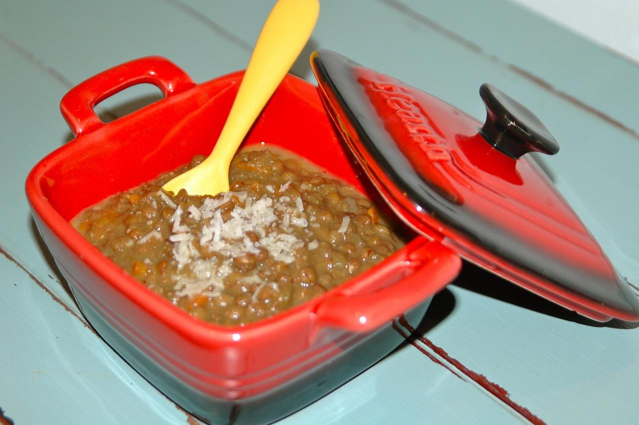Indian Lentil Soup Puree