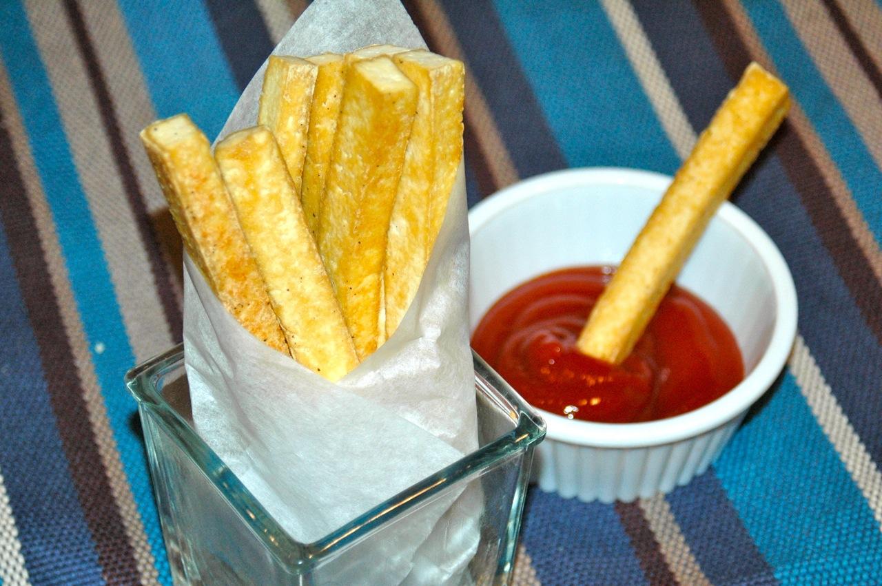 Crispy Tofu Fries