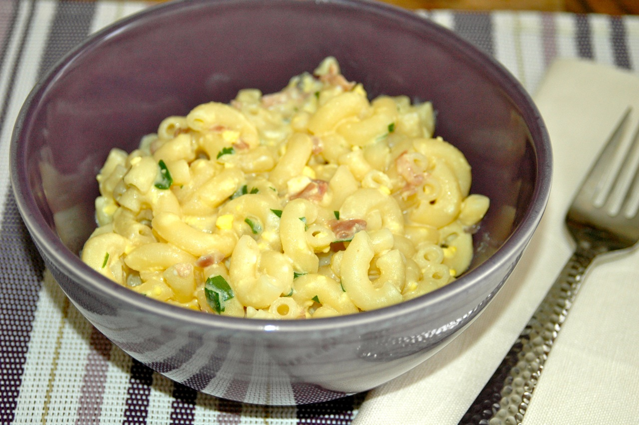 Creamy Macaroni Carbonara