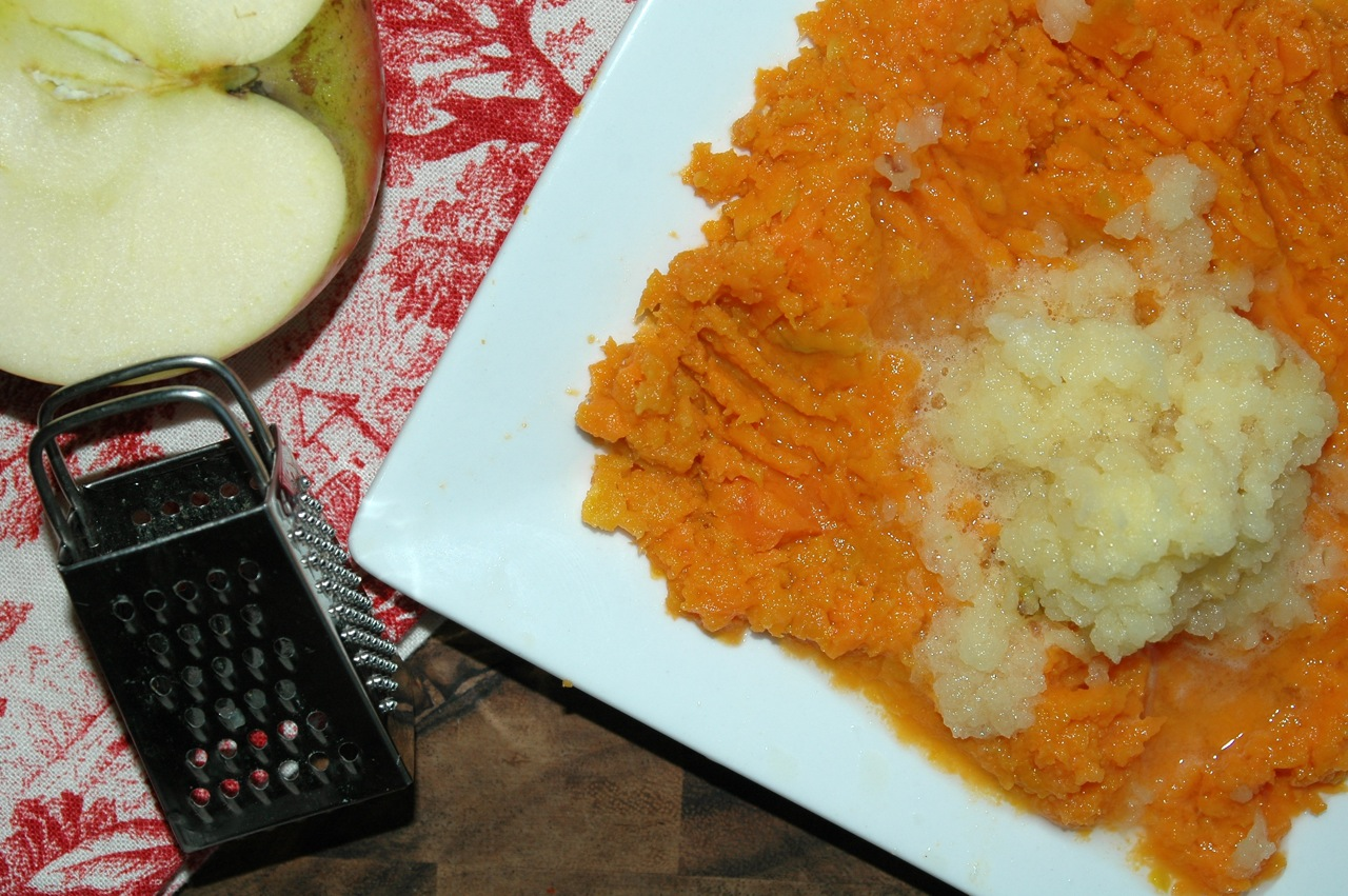 Sweet Potato Apple Mash