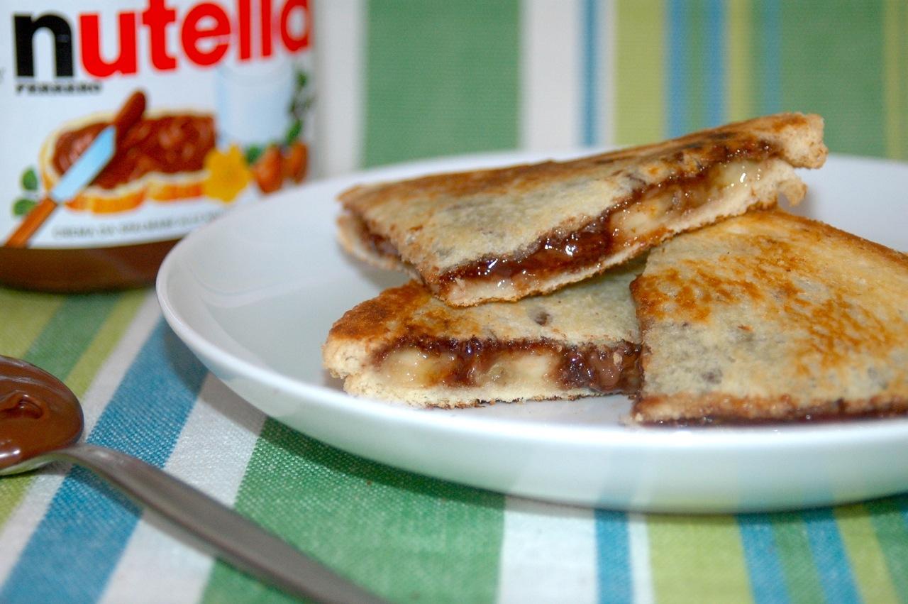 Nutella Banana Breakfast Tramezzino