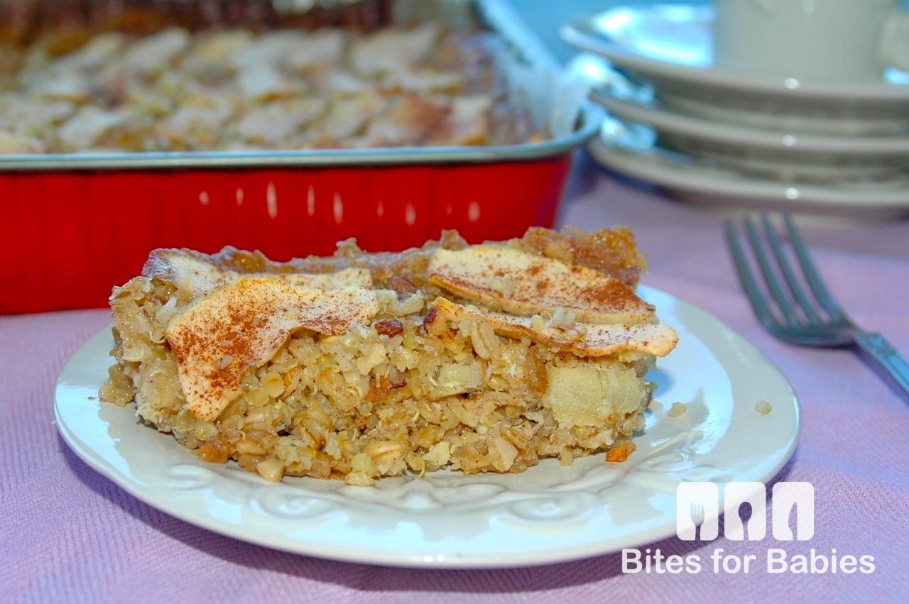 Baked Apple Quinoa Casserole