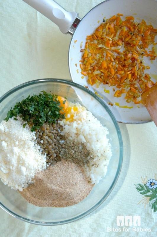 Lentil Rice Arancini