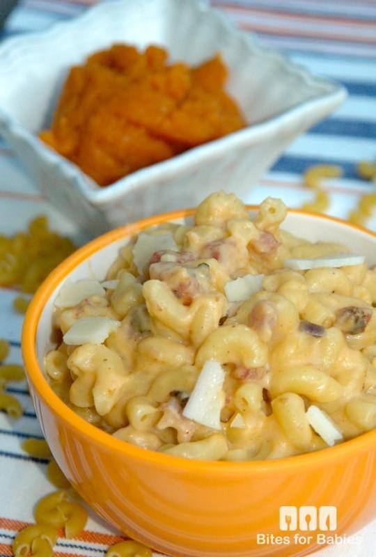 Pumpkin Pancetta Mac n' Cheese