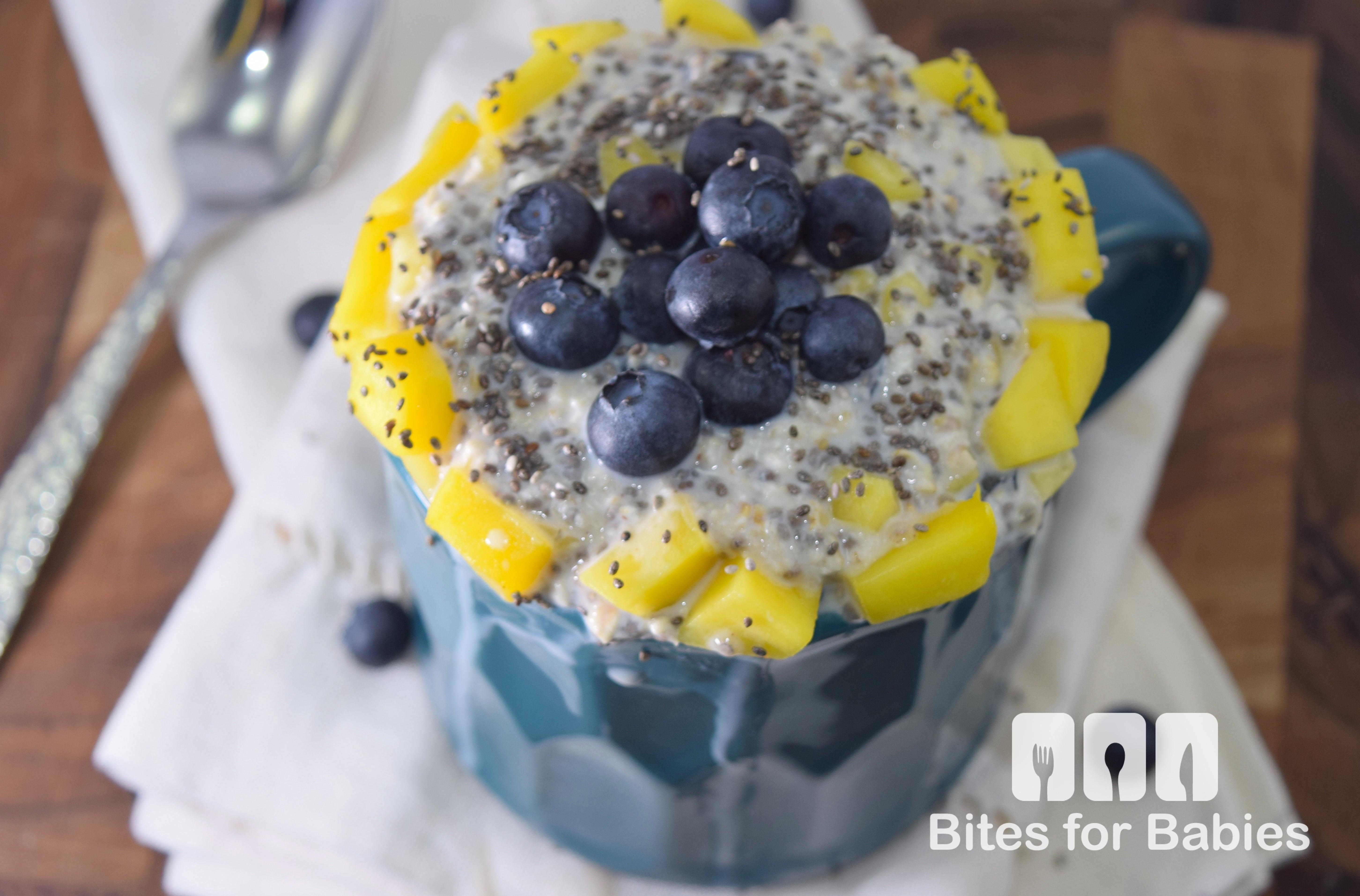 Blueberry Mango Overnight Oats