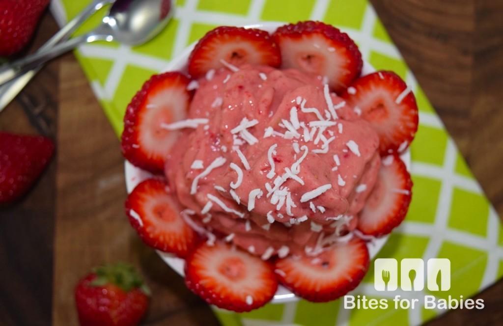 3-Ingredient Strawberry Sorbet
