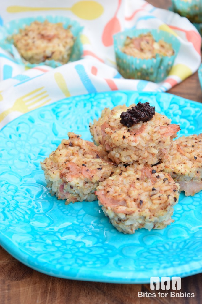 Leftover Rice Muffins
