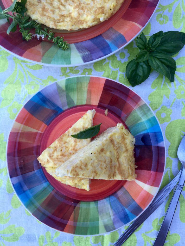 Leftover Rice Frittata