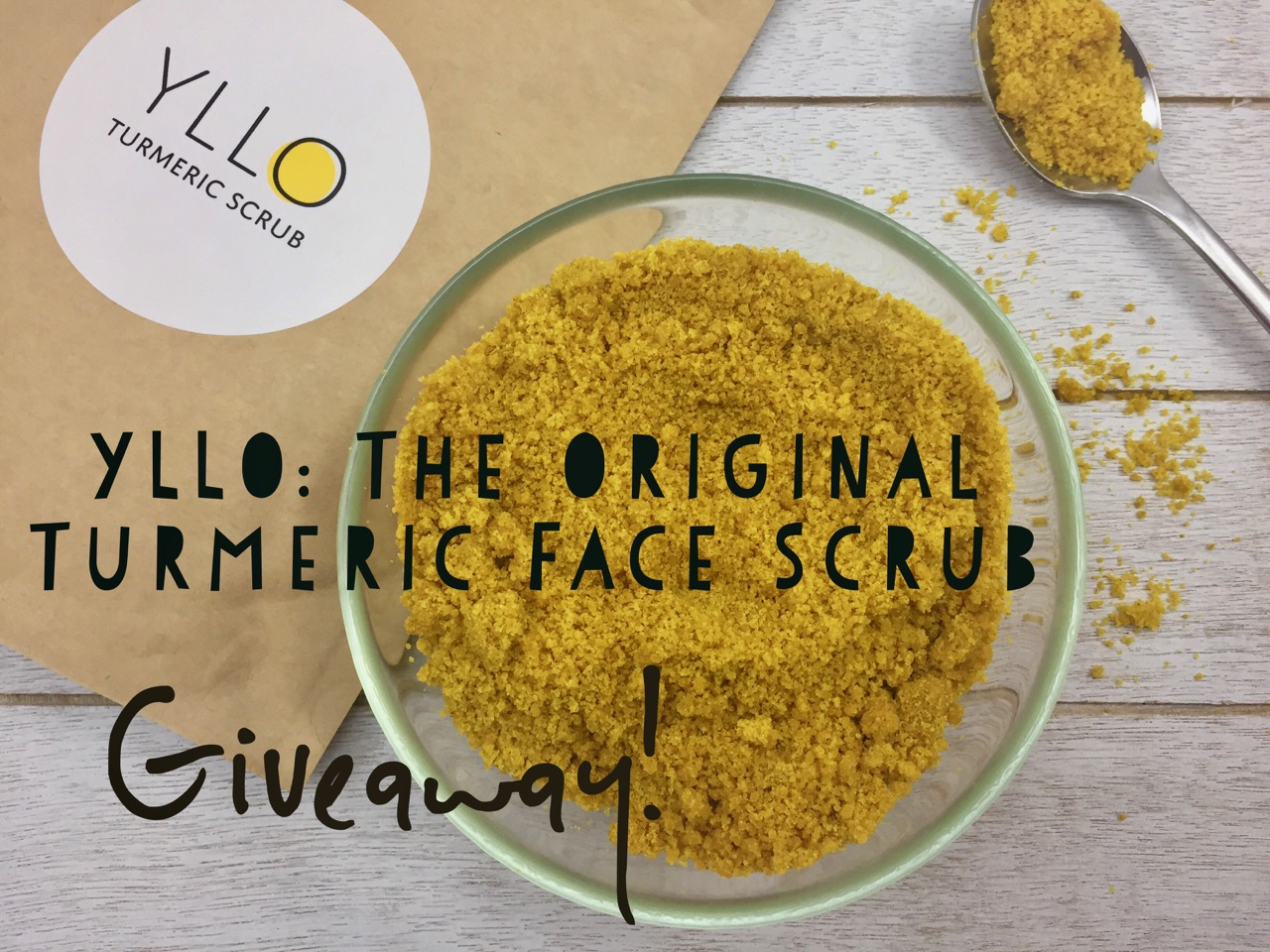 YLLO: The Original Turmeric Face Scrub (Giveaway!)