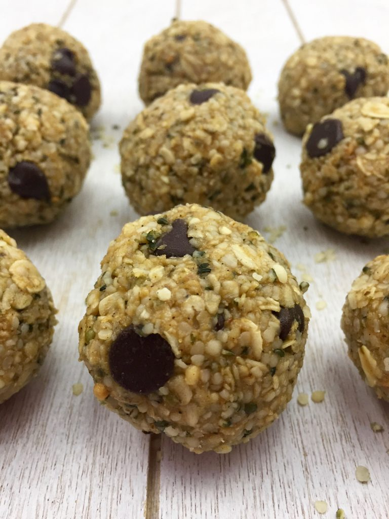 Hemp Heart Protein Balls