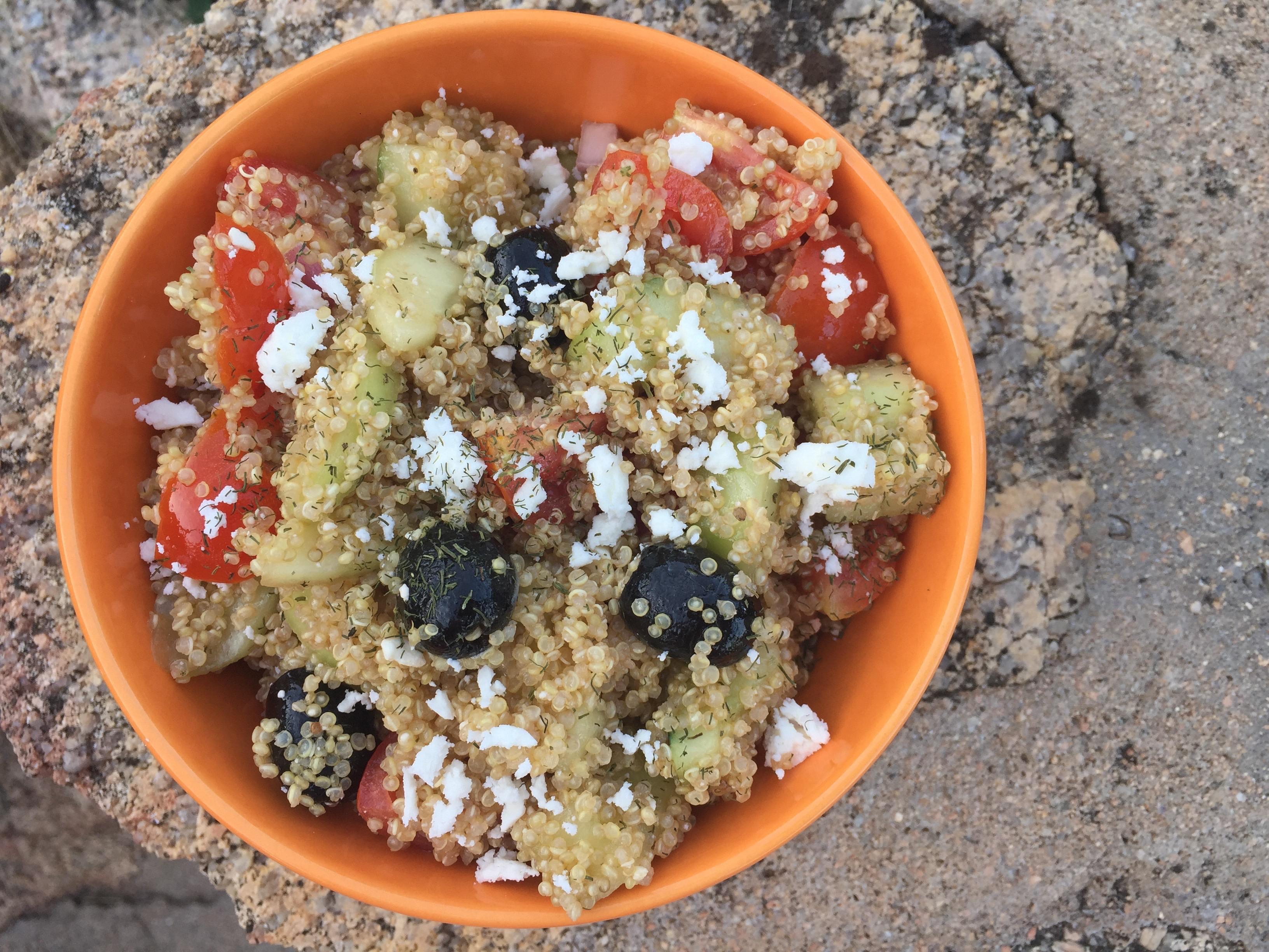 Healthy Greek Quinoa Salad