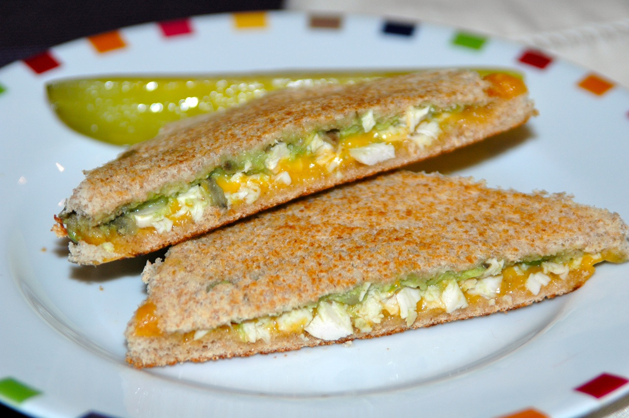 Chicken Avocado and Cheddar Sammie