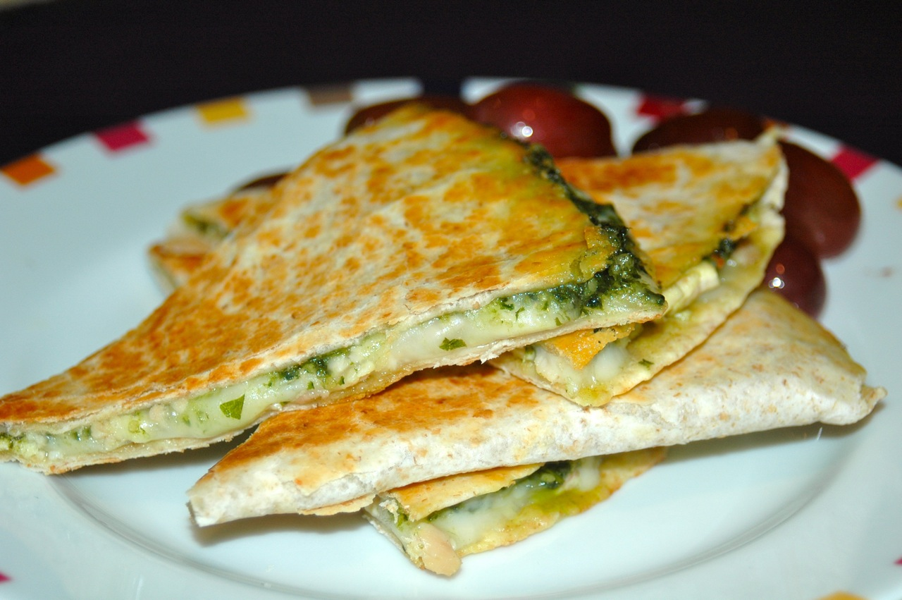 Chicken Pesto Quesadilla