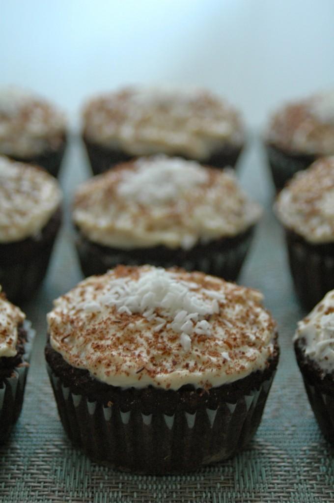 Chocolate Chickpea Muffins