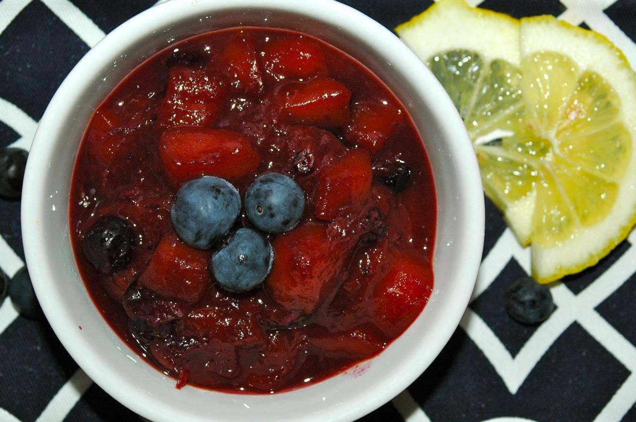 Blueberry Mango Compote