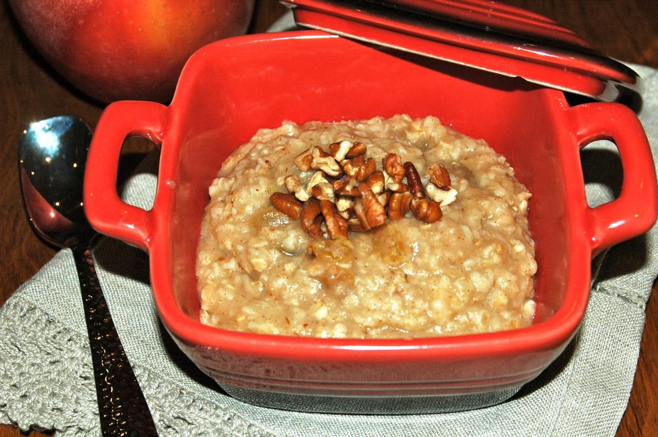 Gluten-Free Apple Pie Oatmeal