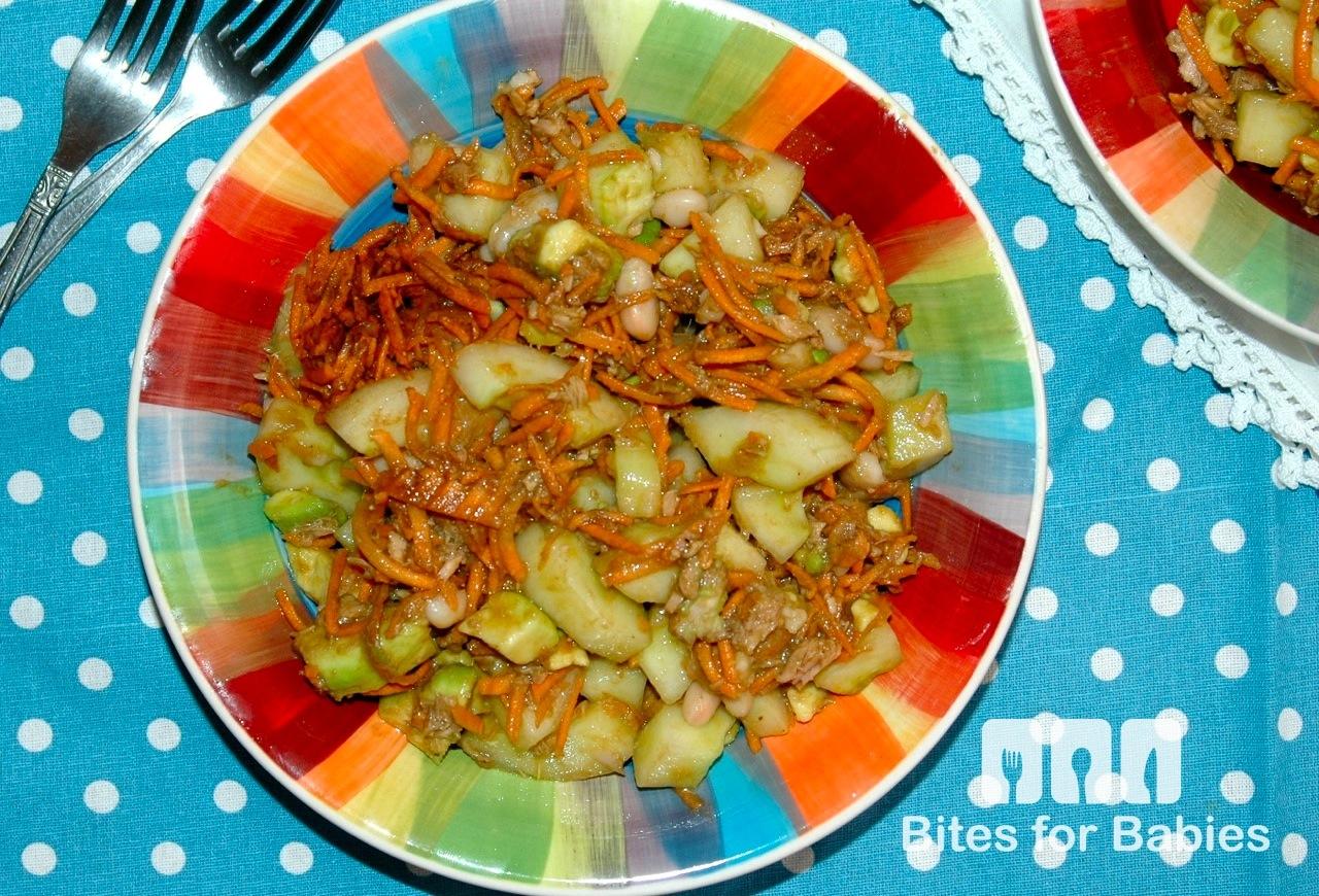 Garden Salad with Dijon Honey Balsamic Vinaigrette