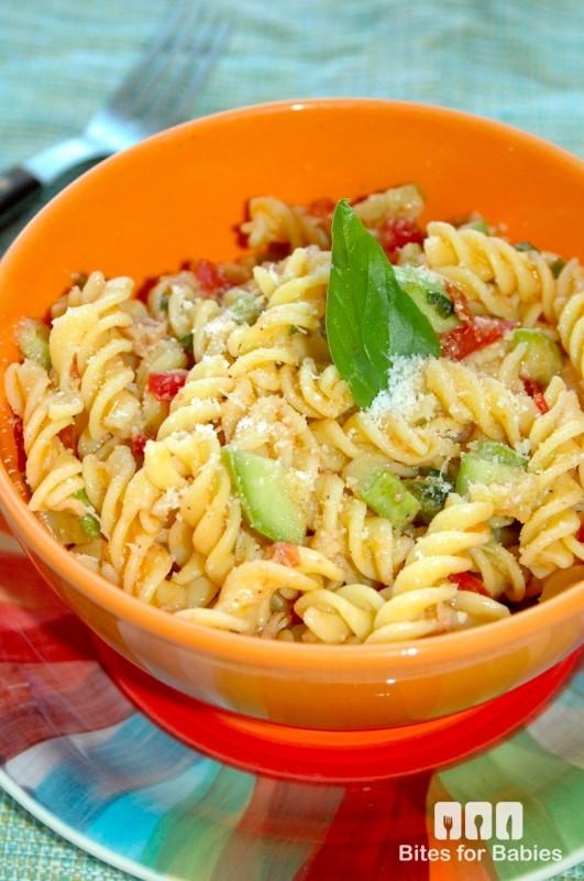 Tuna Zucchini Fusilli