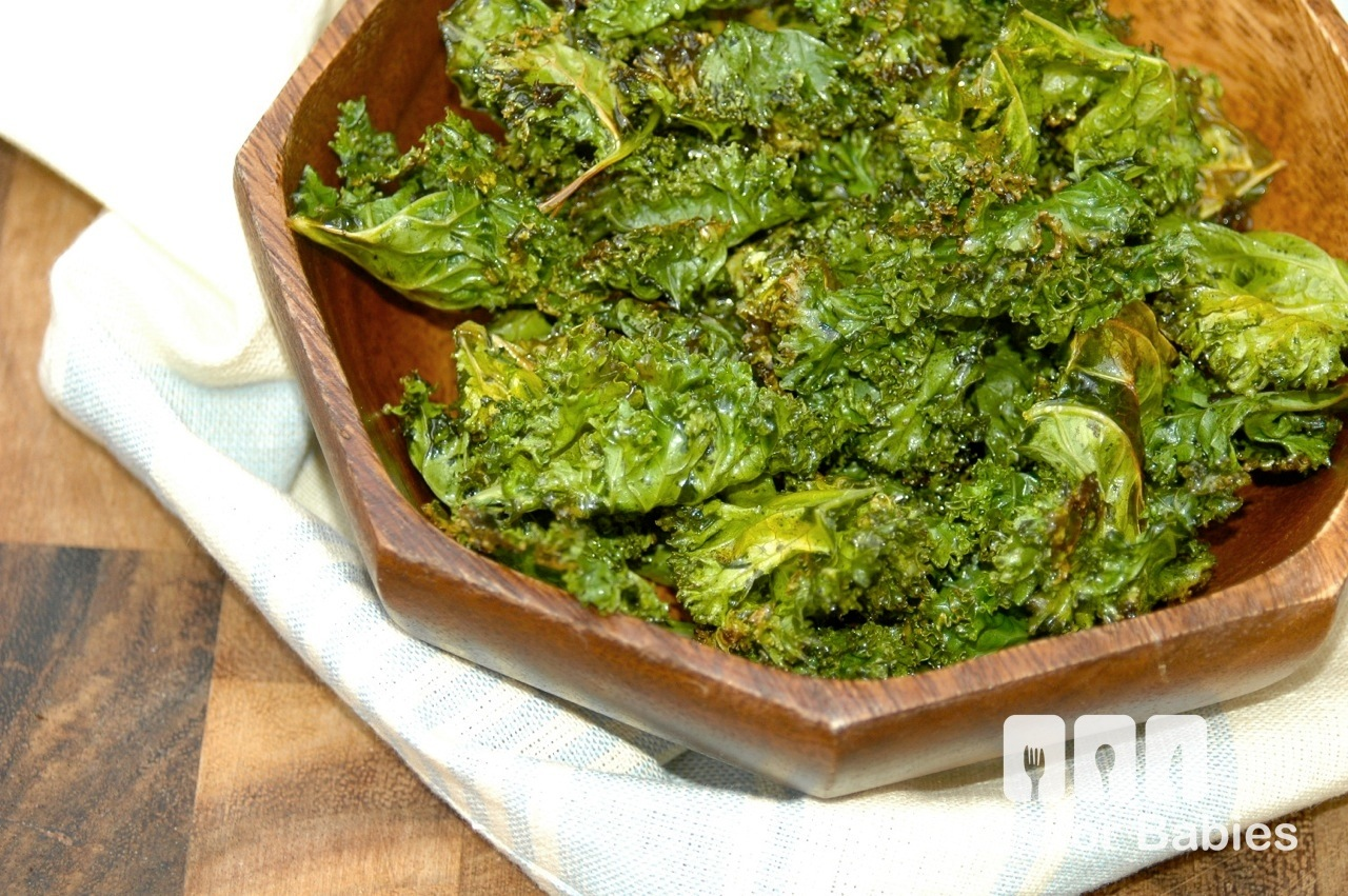 Dill Pickle Kale Chips