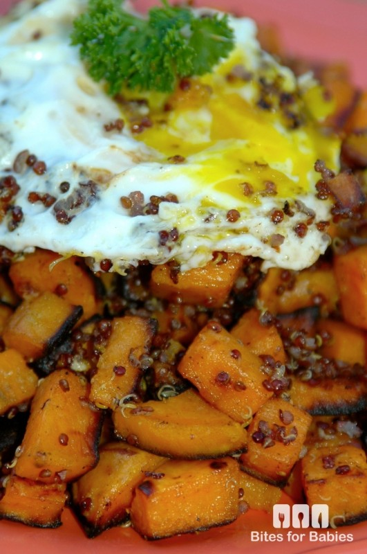 Quinoa Sweet Potato Hash