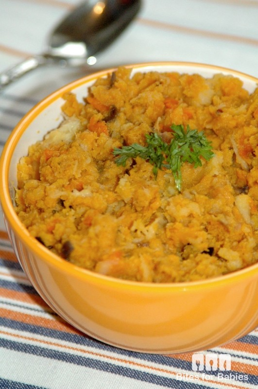 Roasted Root Vegetable Mash