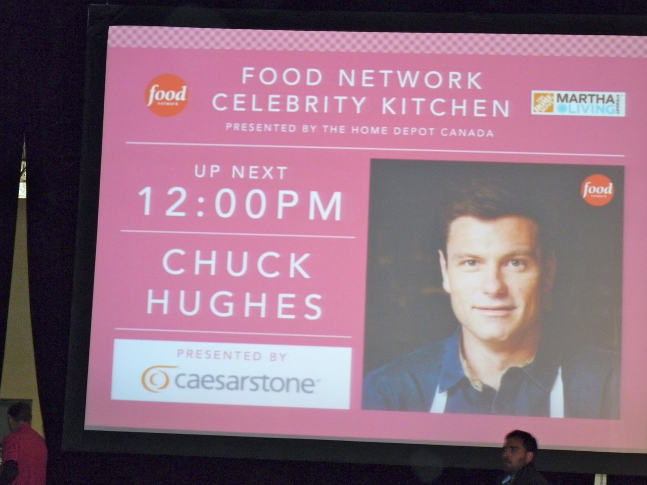 Chuck's Day Off: At The Delicious Food Show