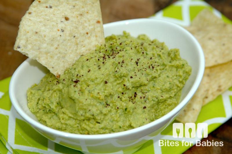Spinach Chickpea Hummus