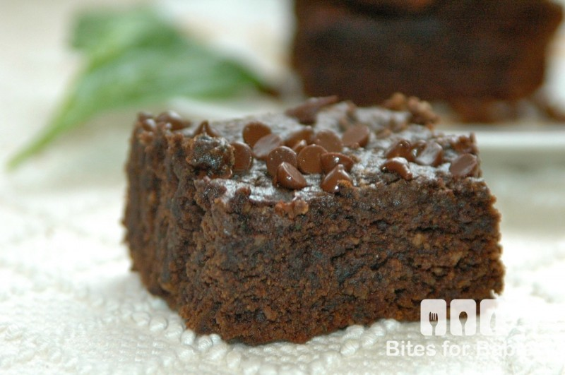 Vegan Spinach Brownies