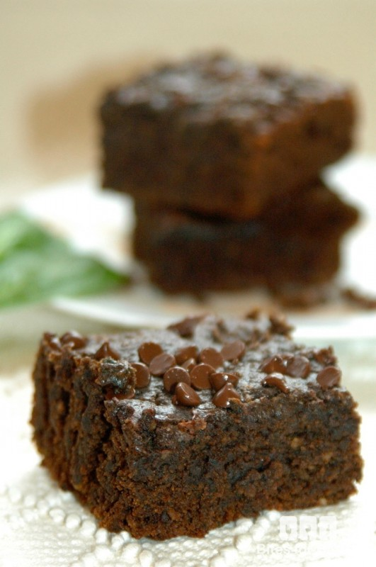 Vegan Spinach Brownies