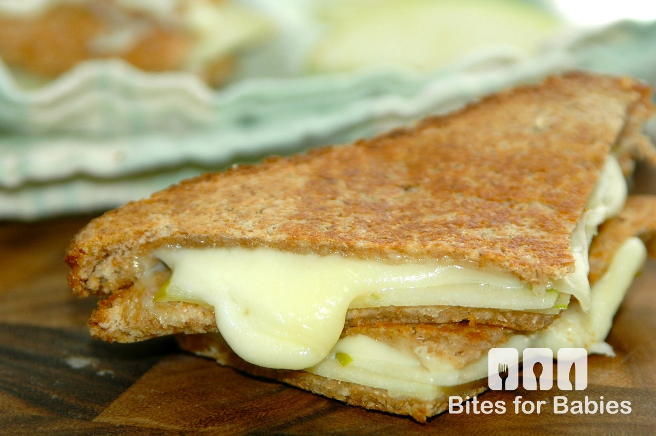 Green Apple & Provolone Grilled Cheese