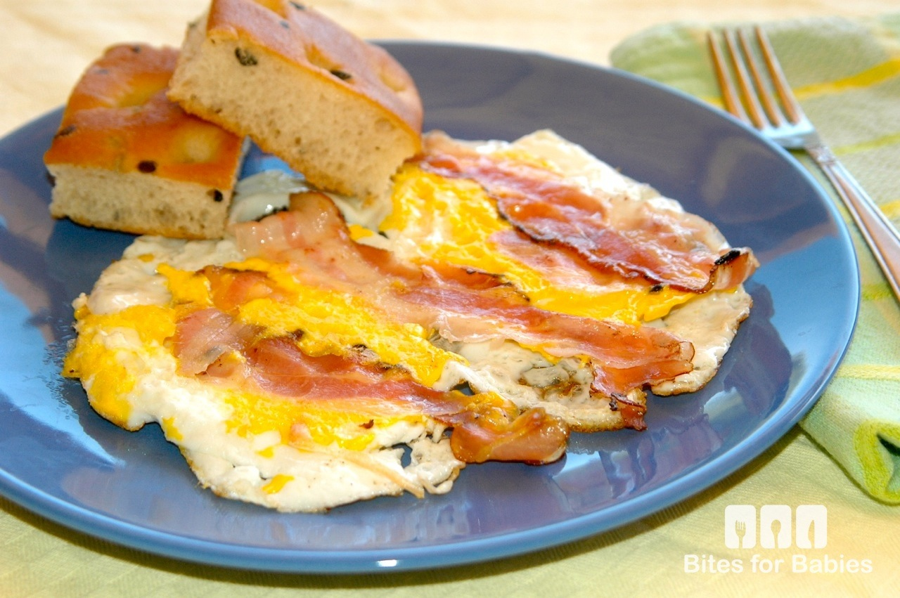 Pancetta Fried Eggs