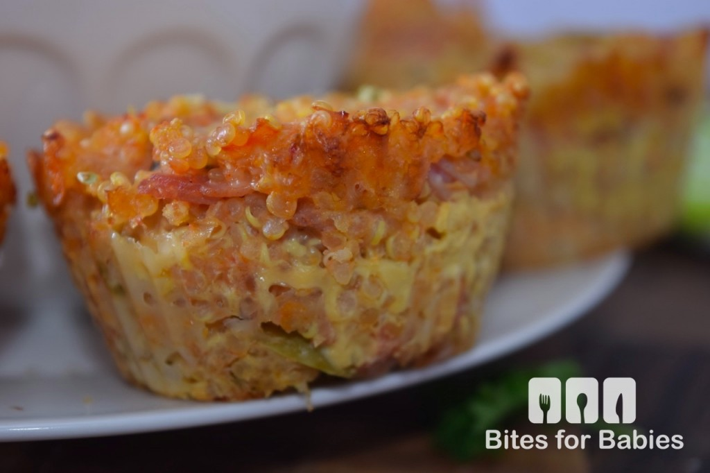 Quinoa Pizza Muffins