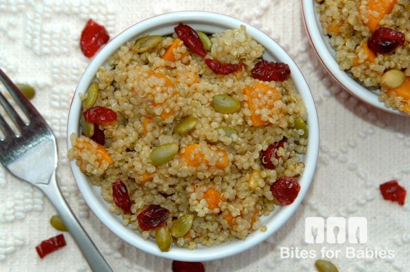 Autumn Quinoa Salad with Maple Balsamic Vinaigrette
