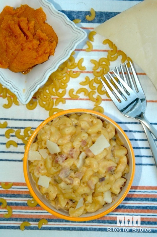 Pumpkin Pancetta Mac n' Cheese