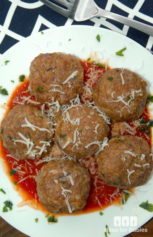 Polpette with Marinara Sauce