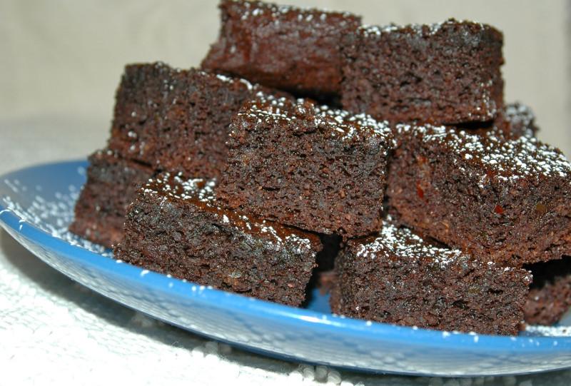 date brownies
