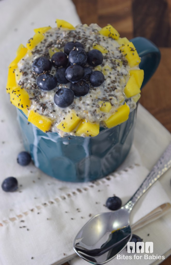 Blueberry Mango Overnight Oats