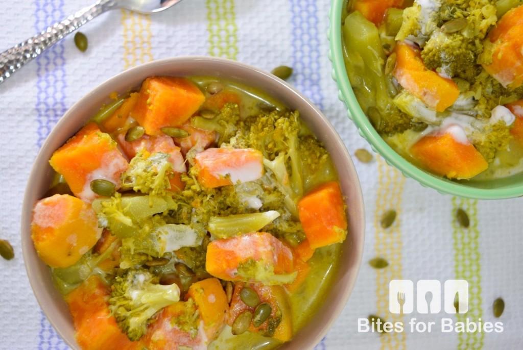 Vegan Sweet Potato Broccoli Soup
