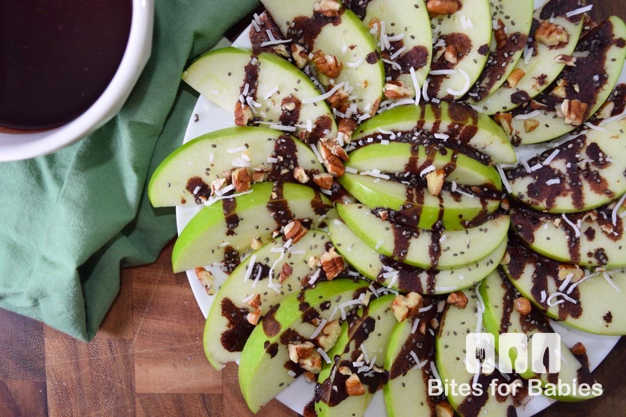 Healthy Apple Nachos