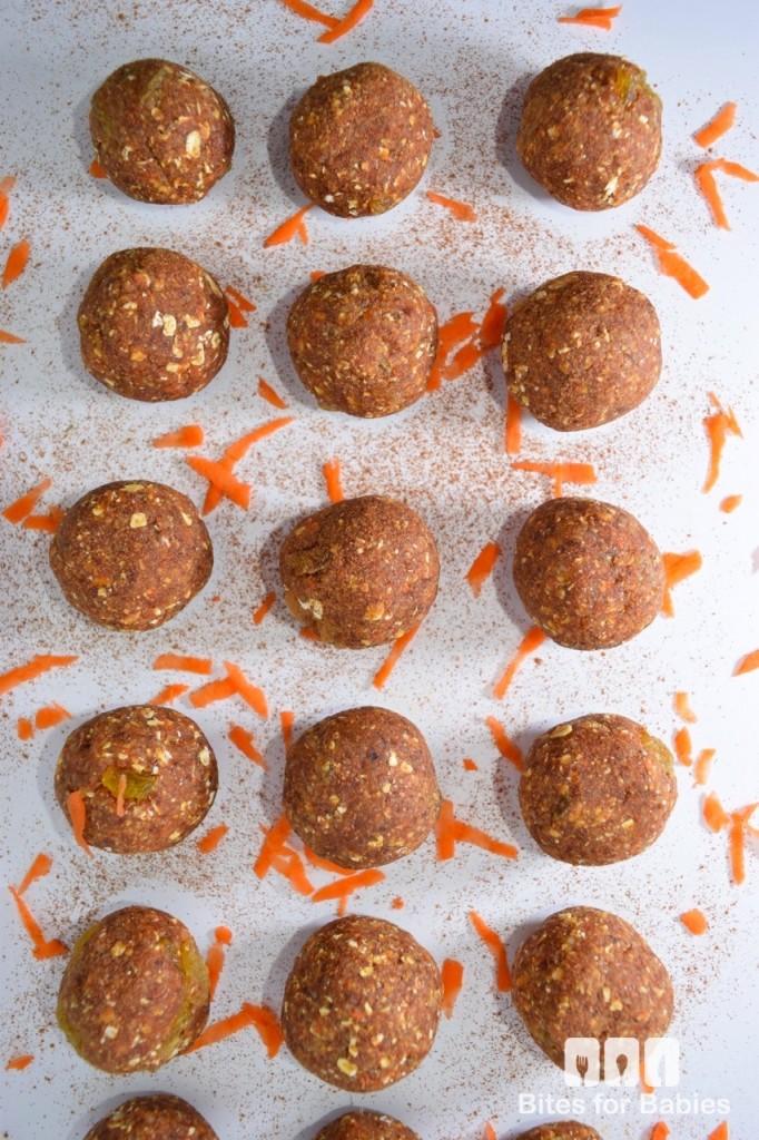 No-Bake Carrot Cake Balls