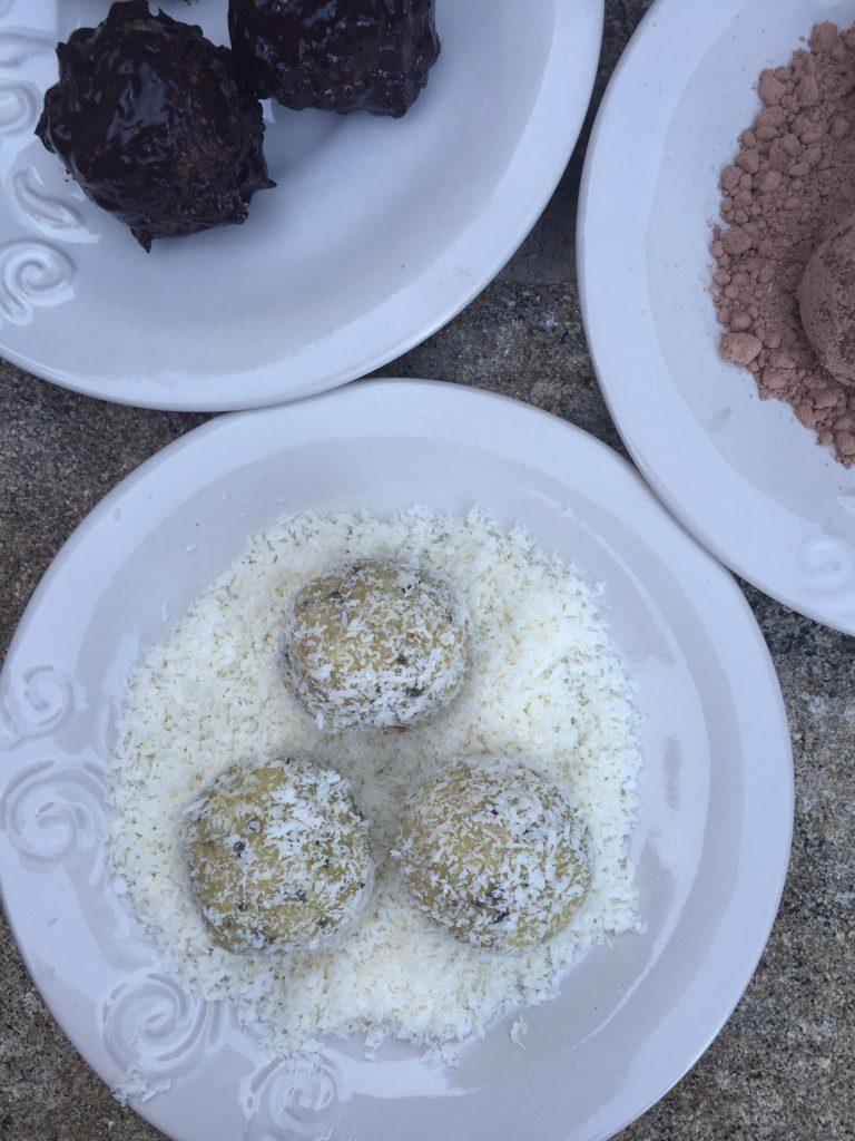Nut-Free Coconut Lemon Snowballs