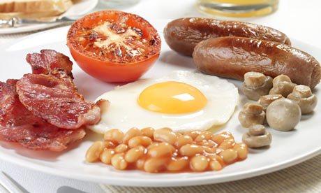 Clean Eating English Breakfast