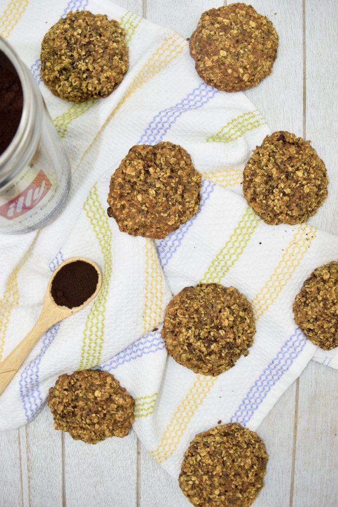 Chocolate Chip Espresso Walnut Cookies