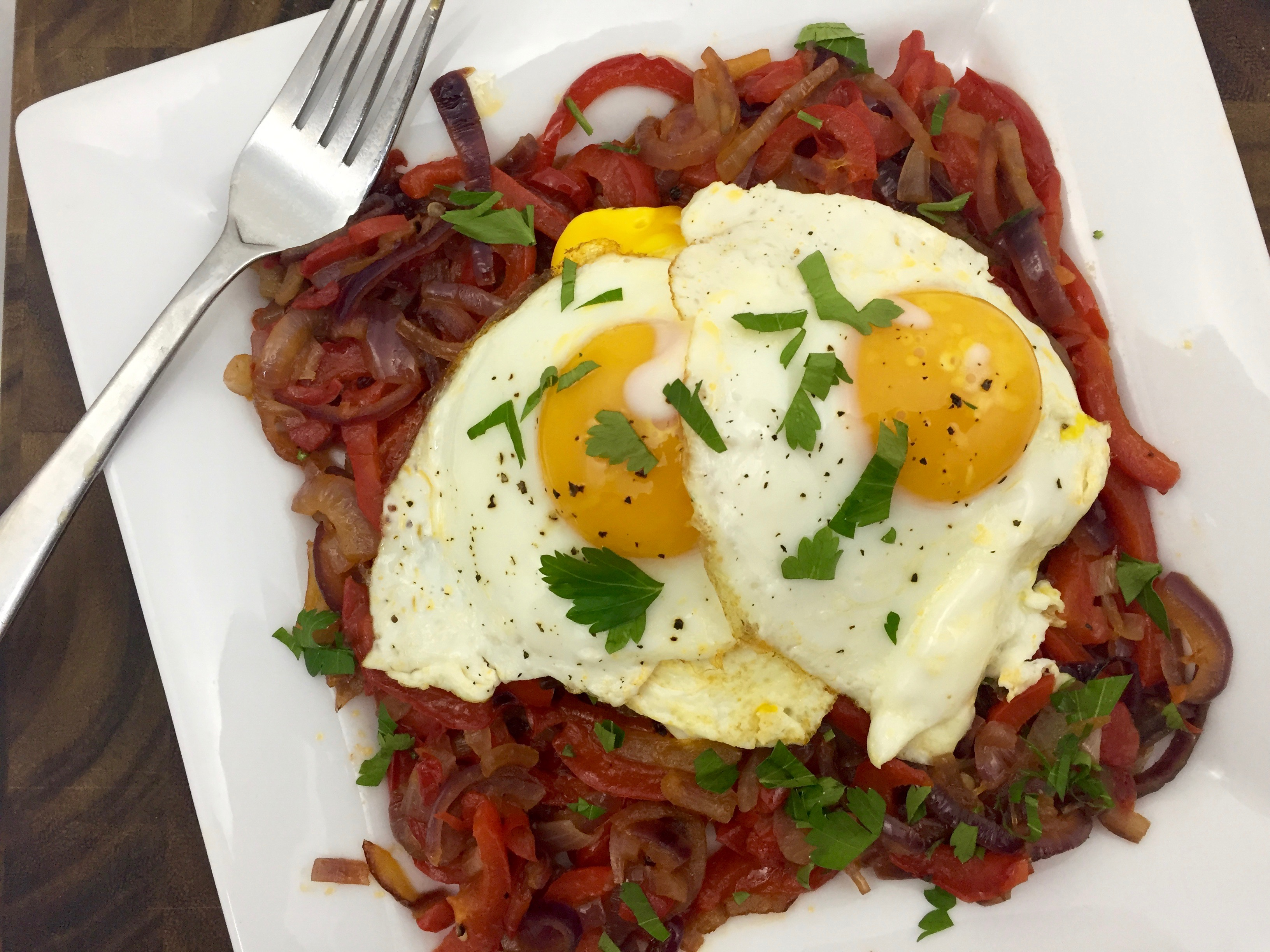 Italian Eggs and Peppers