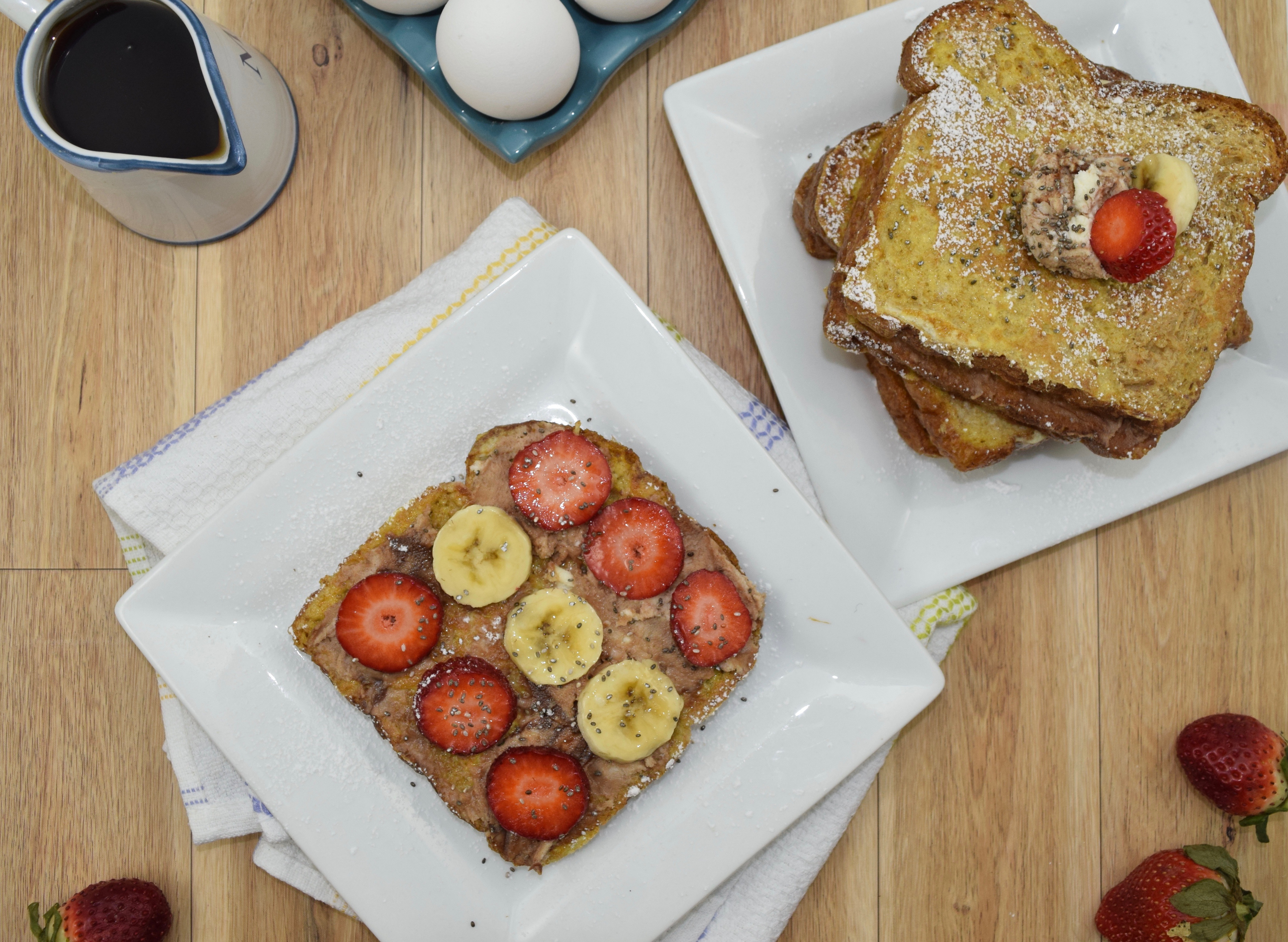 Nutella Mascarpone French Toast