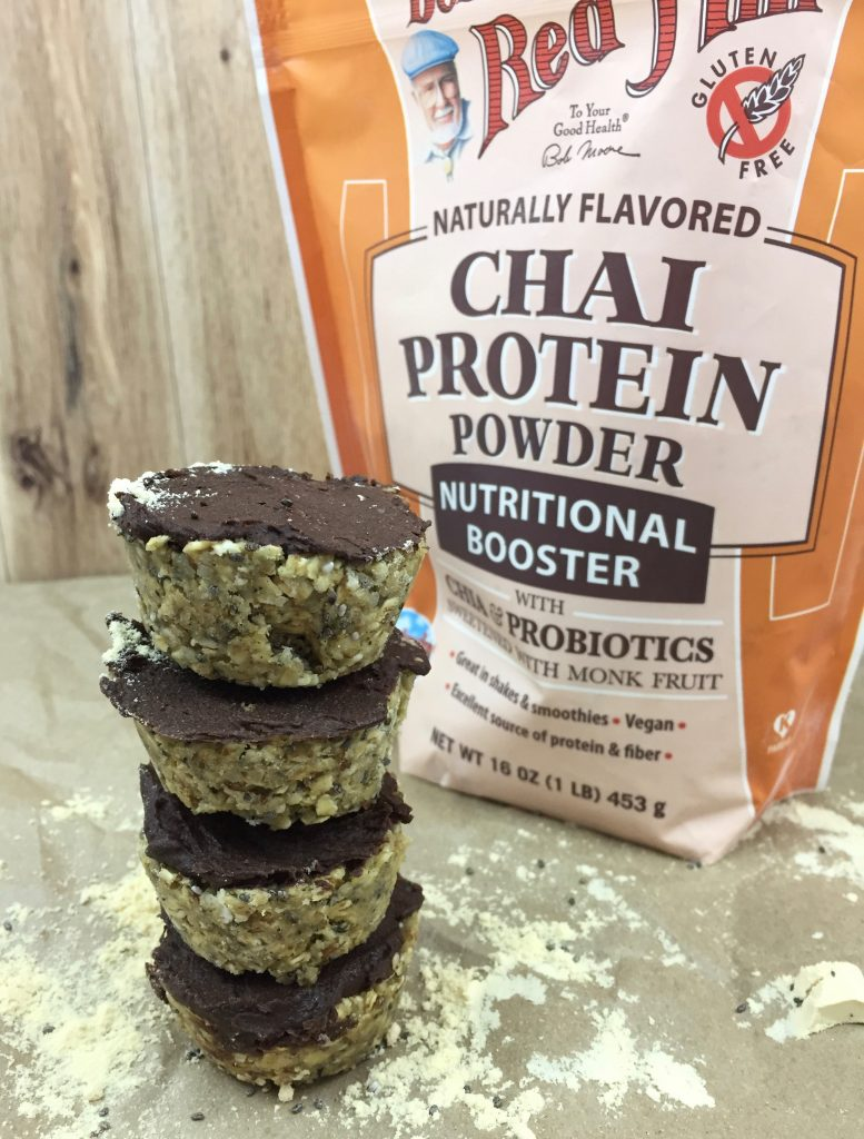 No Bake Chai Protein Muffins + Bob's Red Mill Giveaway!