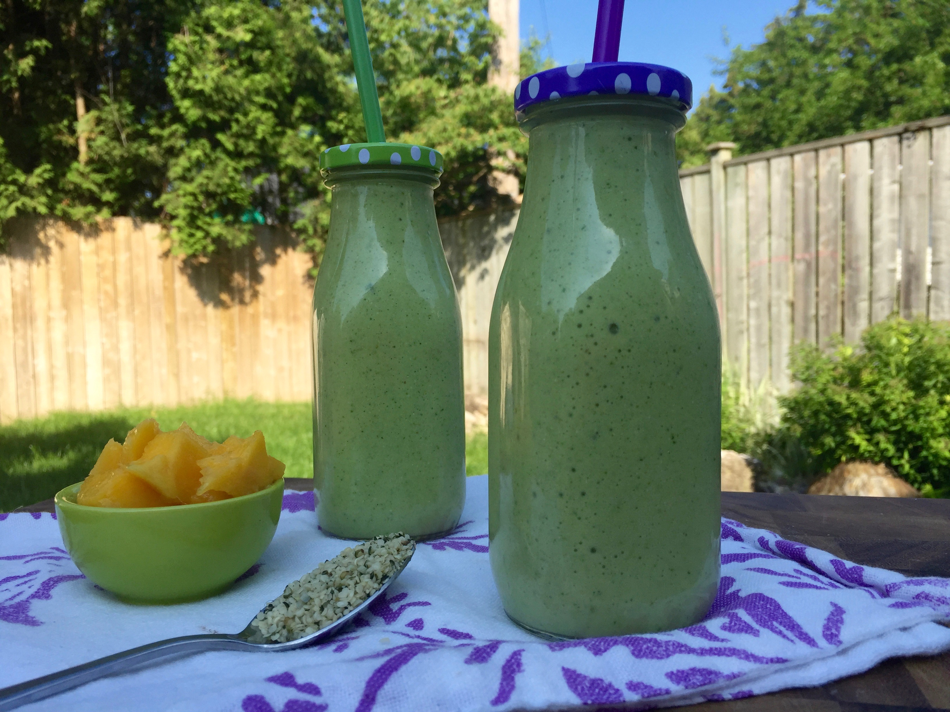 Superfood Green Protein Smoothie