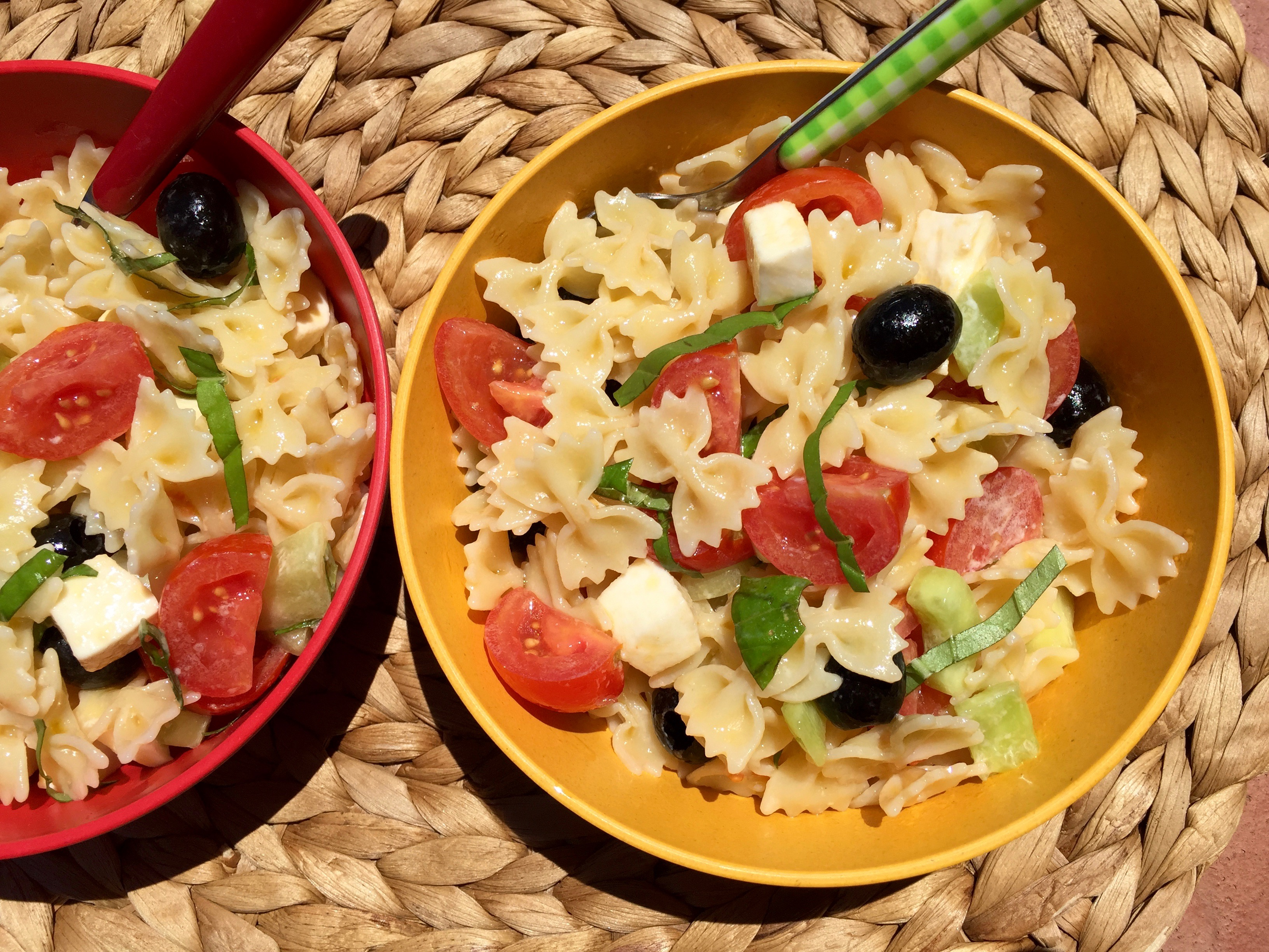 Healthy Summer Pasta Salad