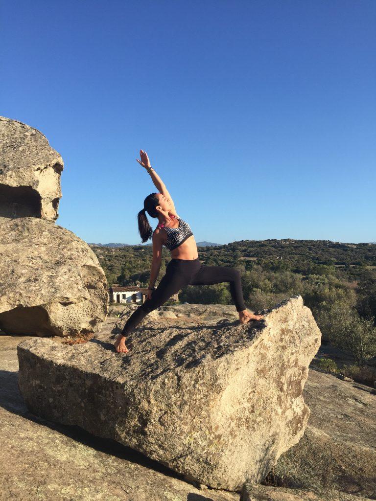 Teaching Yoga in Costa Smeralda