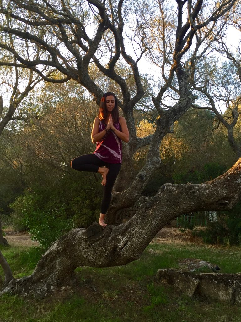 Teaching Yoga in Costa Smeralda